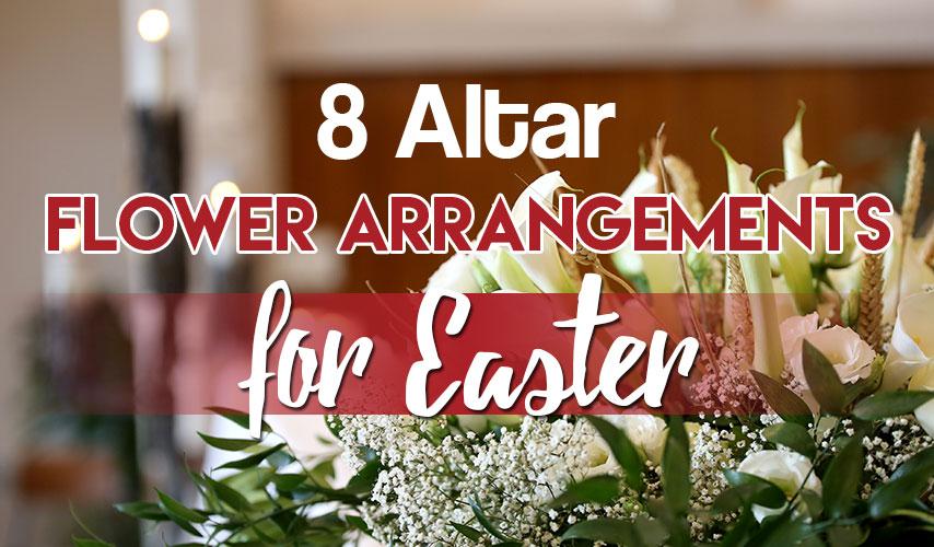 8 Altar Flower Arrangements For Easter Blog Flower Patch Online Flower Delivery Phillippines